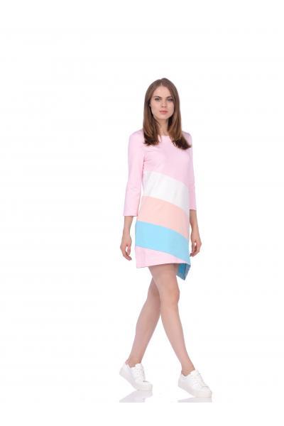 Платье BRAINWEAR - РОЗОВОЕ