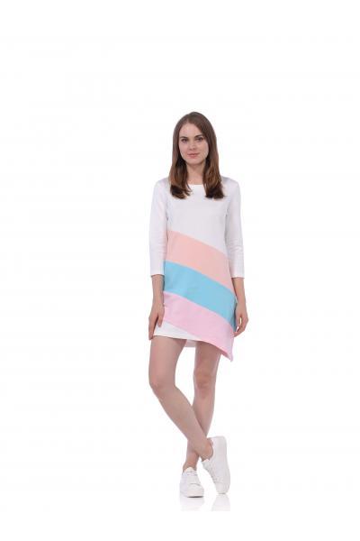 Платье BRAINWEAR - МОЛОЧНОЕ