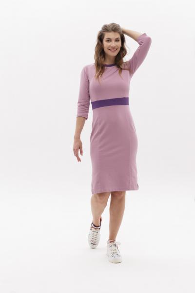 Платье BRAINWEAR- СИРЕНЕВОЕ